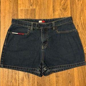 Tommy Hilfiger 2001 jean shorts sz 11 EUC
